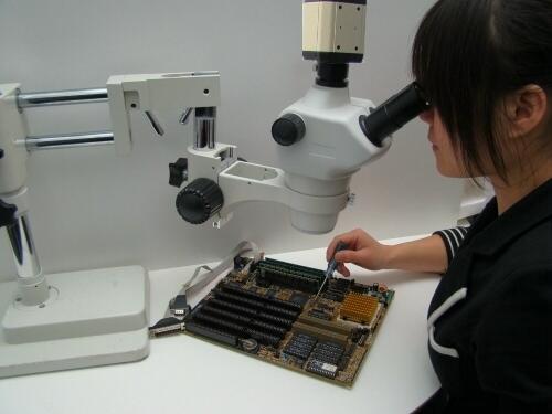 Stereomikroskop mit hd kamera und monitor usb schnittstelle